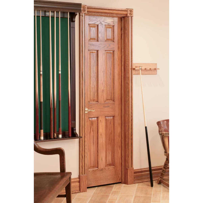 House of Fara 7/16 In. W. x 2-1/4 In. H. x 7 Ft. L. Natural Solid Red Oak Colonial Wood Casing Image 3