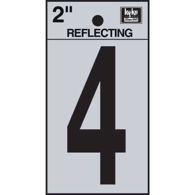 Hy-Ko Vinyl 2 In. Reflective Adhesive Number Four