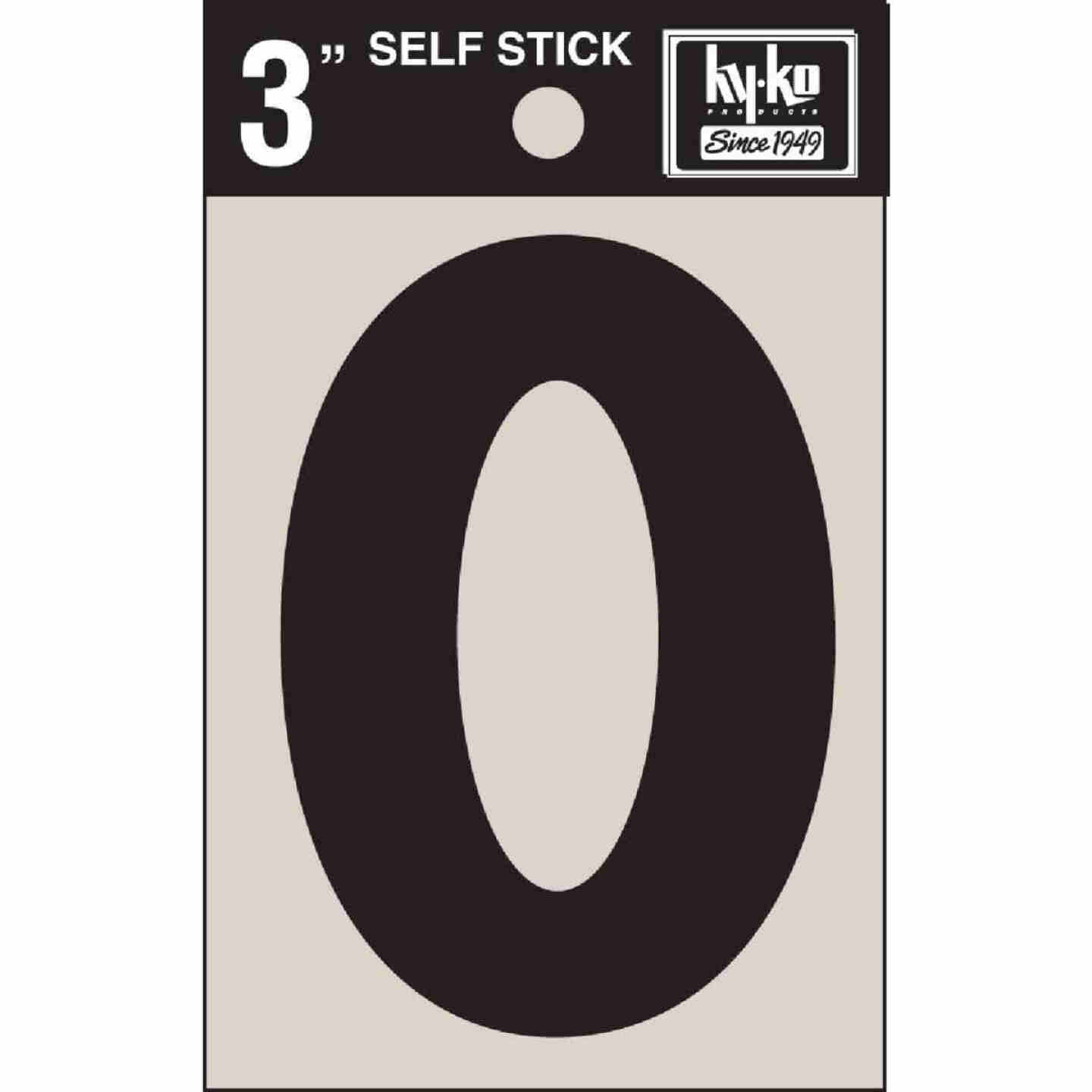 Hy-Ko Vinyl 3 In. Non-Reflective Adhesive Letter, O Image 1