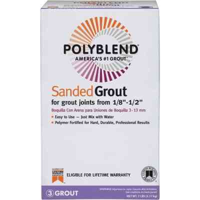 Custom Building Products Polyblend  7 Lb. Haystack Sanded Tile Grout