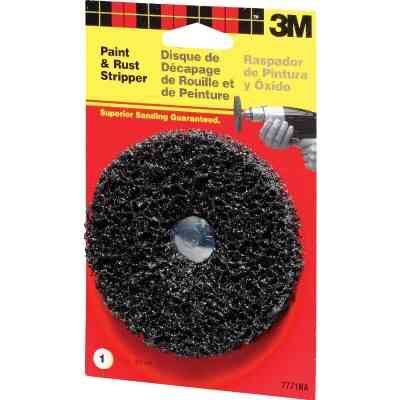 3M 4 In. Single Pad Paint Removal Disc