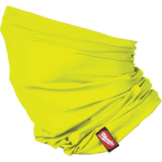 Milwaukee Washable Neck Gaiter, High Visibility Yellow