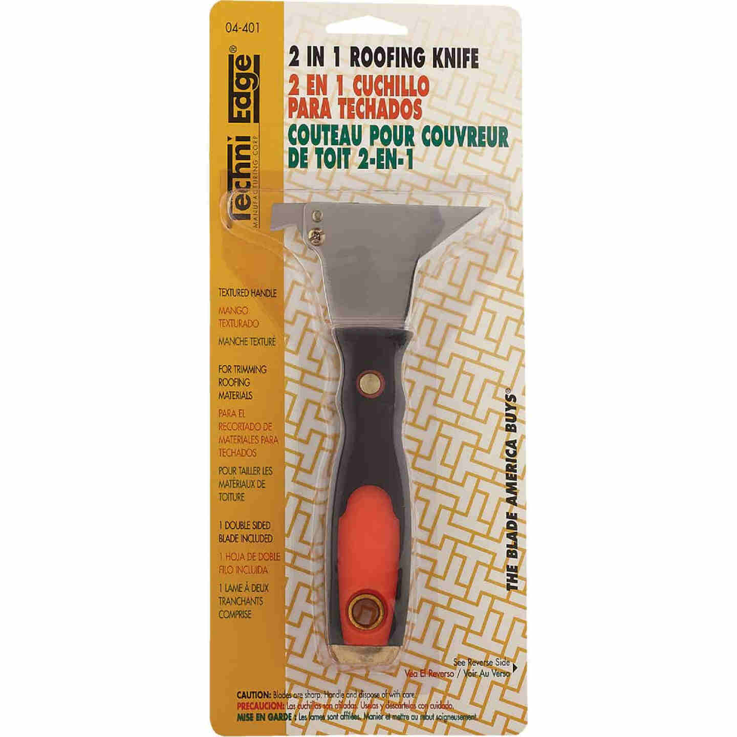Techni Edge 2-in-1 Roofing Knife Image 2