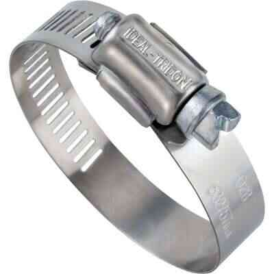 Ideal 1/2 In. - 1-1/4 In. 57 Stainless Steel Hose Clamp with Zinc-Plated Carbon Steel Screw