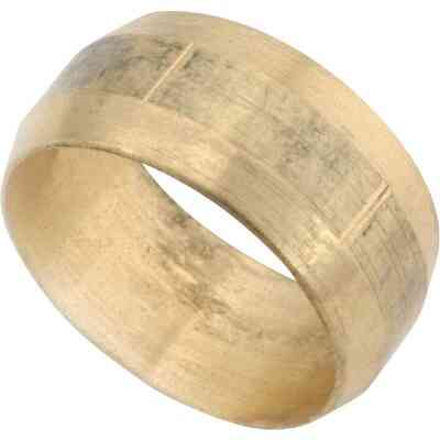 Anderson Metals 7/8 In. Low Lead Brass Compression Sleeve