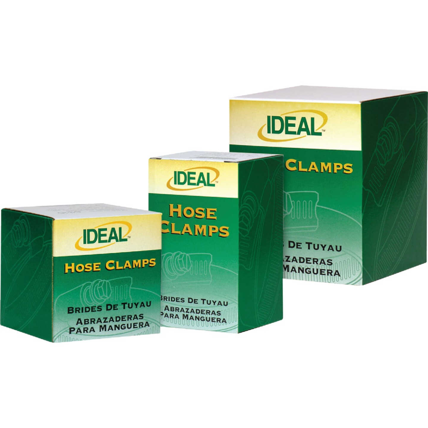 Ideal 2 In. - 3 In. 67 All Stainless Steel Hose Clamp Image 2
