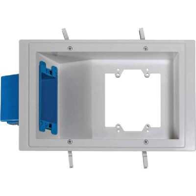 Carlon PVC Molded Flat Panel TV Wall Box