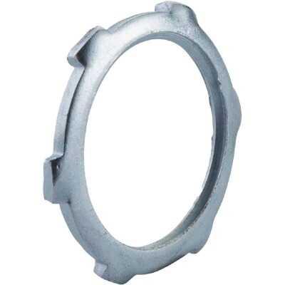Halex 1/2 In. Rigid & IMC Steel Reversible Conduit Locknut (4-Pack)