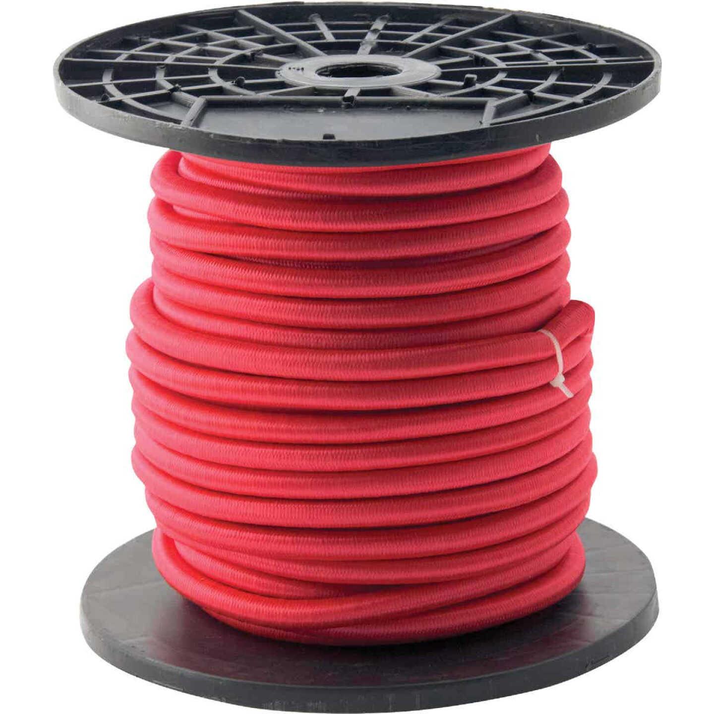 "Erickson 3/8"" x 100' Red Bulk Bungee Cord Image 1"