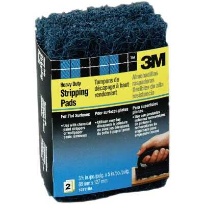 3M 3-1/2 In. x 5 In. Heavy-Duty Paint Stripping Pad (2-Pack)
