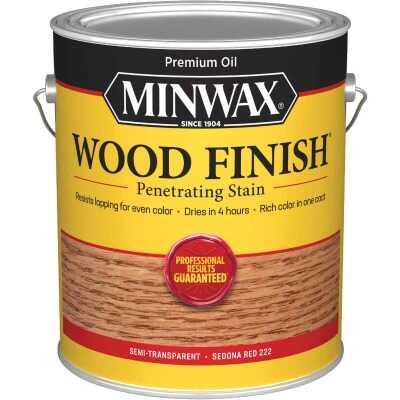 Minwax Wood Finish VOC Penetrating Stain, Sedona Red, 1 Gal.