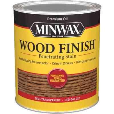 Minwax Wood Finish Penetrating Stain, Red Oak, 1 Qt.