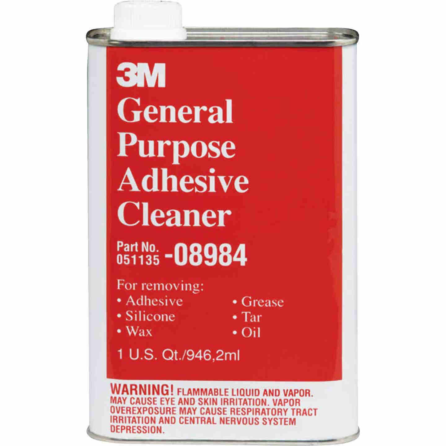 3M 1 Qt. Cleaner and Adhesive Remover Image 1