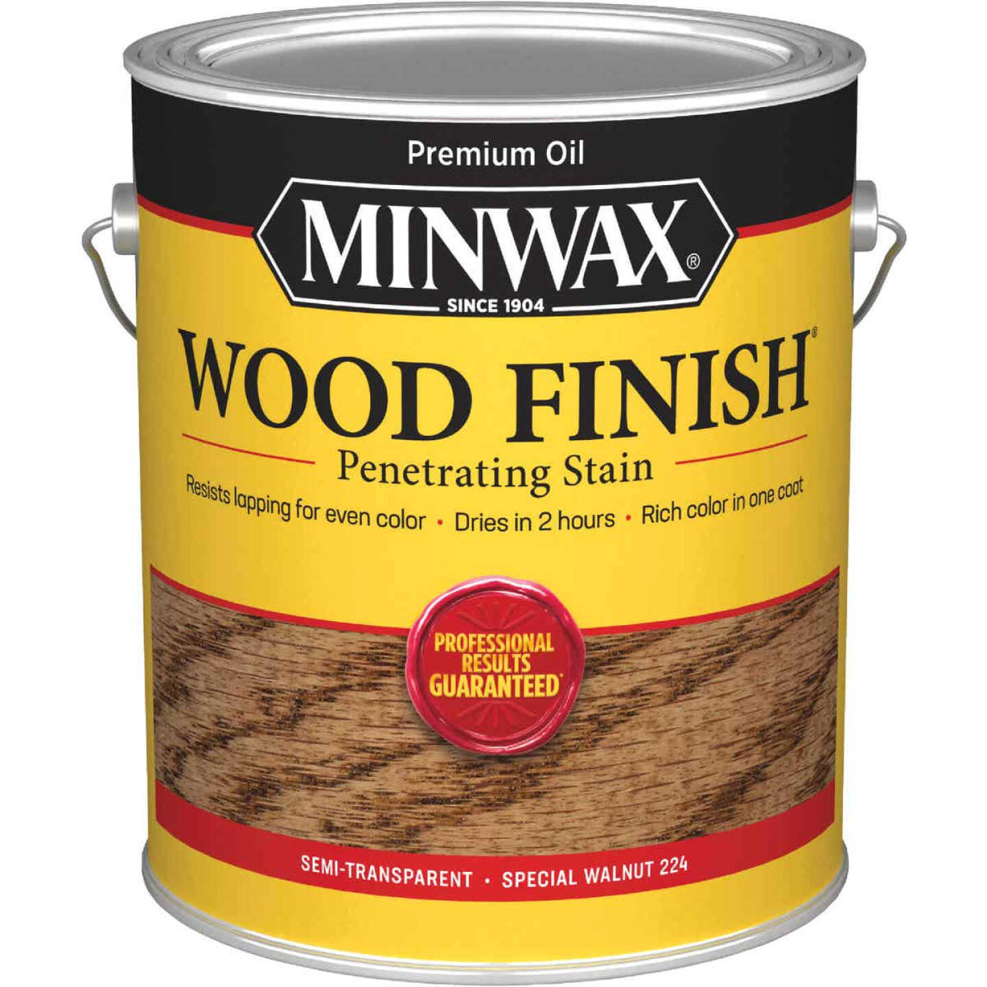 Minwax Wood Finish Penetrating Stain, Special Walnut, 1 Gal. Image 1