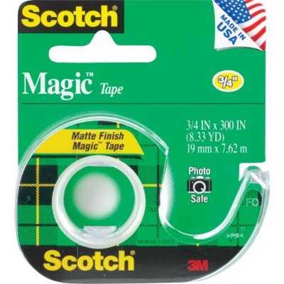 3M Scotch 3/4 In. x 300 In. Magic Transparent Tape