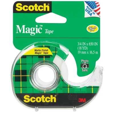 3M Scotch 3/4 In. x 650 In. Magic Transparent Tape